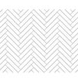 Black and white simple wooden floor herringbone vector image