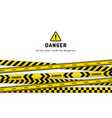 danger website page vector image