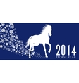 Horse Year vector image vector image