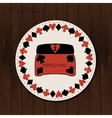 Jewelry Box - drink coaster from Wonderland on vector image