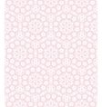 Lace on the pink vector image