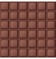 Chocolate bar seamless vector image vector image
