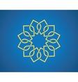 geometric arabic pattern vector image vector image