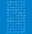 Universal icons set for web design vector image vector image