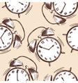 Clock seamless vector image