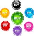 buy buttons vector image