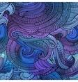 Decorative ornamental seamless pattern vector image