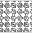 flower cornflower pattern vector image