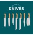 Steel kitchen household cutlery Set Kitchen vector image