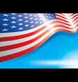 US Flag vector image