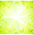 Summer decorative composition vector image vector image