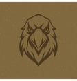 Eagle head logo emblem template vector image vector image