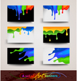 Paints collection vector image vector image