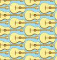 Sketch guitar musical instrument vector image