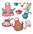 Kitchen aprons vector image