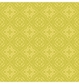 Yellow Ornamental Seamless Line Pattern vector image