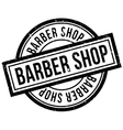 Barber Shop rubber stamp vector image