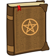 Magic spell book vector image