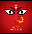 happy diwali or navratri festival greeting card vector image