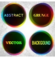 Abstract grunge frame background vector image
