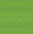 light green native american ethnic pattern vector image
