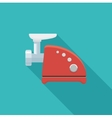 Flat icon electric grinder vector image