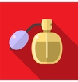 Perfume bottle flat icon vector image