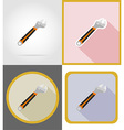 repair tools flat icons 13 vector image