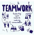 Teamwork Design Concept vector image