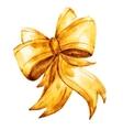 watercolor bows vector image