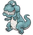 Angry Dinosaur vector image