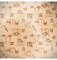 Zodiac Background vector image