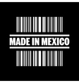 made in mexico icon vector image vector image