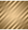 Classic diagonal lines pattern on gold vector image