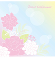 Background rose vector image