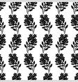 flower bouquet pattern vector image