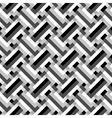 geometric grid ornament vector image vector image