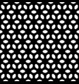 seamless pattern black and white texture vector image