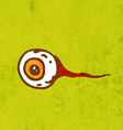 Eyeball Cartoon vector image