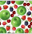 multifruit pattern vector image