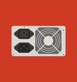 Power supply icon vector image