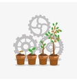 business related icons image vector image
