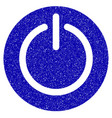 turn off power icon grunge watermark vector image