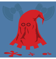 Red executioner mask vector image
