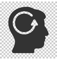 Refresh Head Memory Icon vector image
