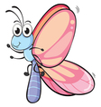 a butterfly vector image vector image