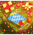 Christmas Presents Colorful With vector image