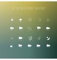 Set icon Weather vector image