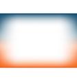 Sunset Sky Blue Orange Copyspace Background vector image