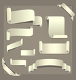 Paper Design Elements vector image vector image